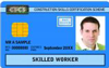 CITB Blue Skilled Worker Card